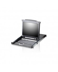 """17"""" 8-Port LCD KVM w/ Extra local console CL5708M-ATA-AG"""