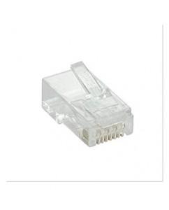 RJ45 UTP CAT6 8P8C PLUG 100 PCS [NPG-C61TRA031-100]