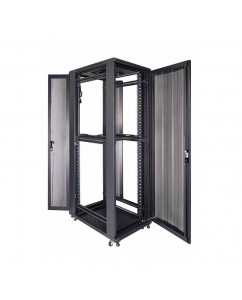 "Standing Close Rack 19"" Perforated Door [IR9042P]"